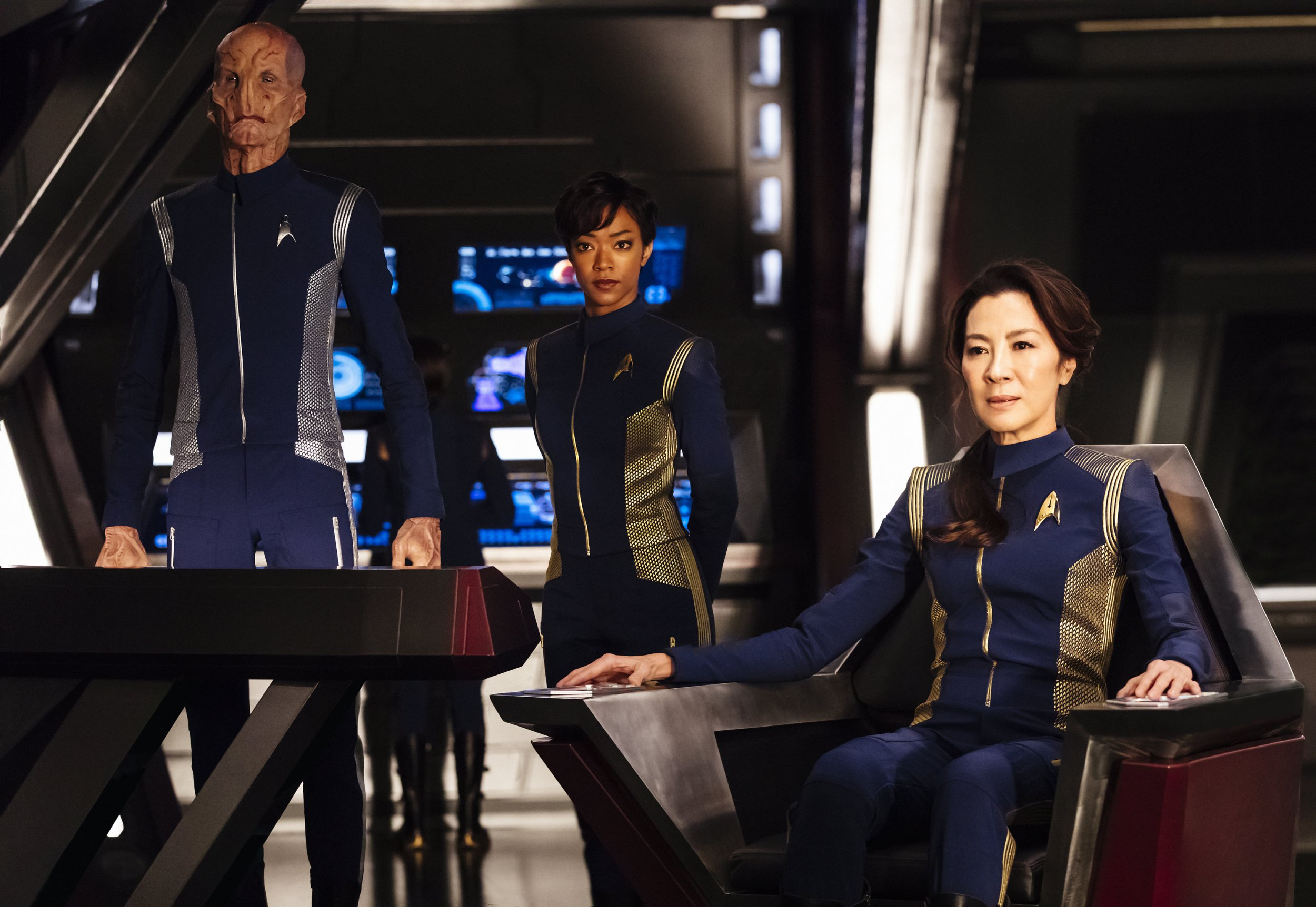 Star Trek: Discovery costumes are all gender neutral as show sets out to make clothes that 'would apply to everybody'