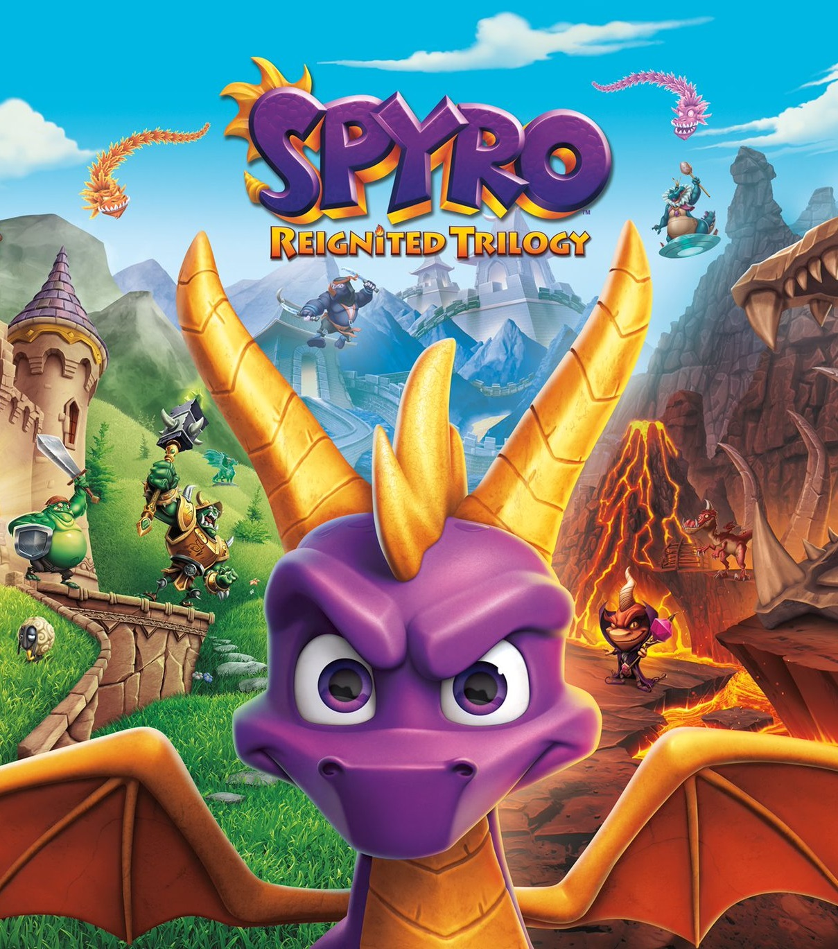 Spyro Reignited Trilogy review – phoenix from the flames