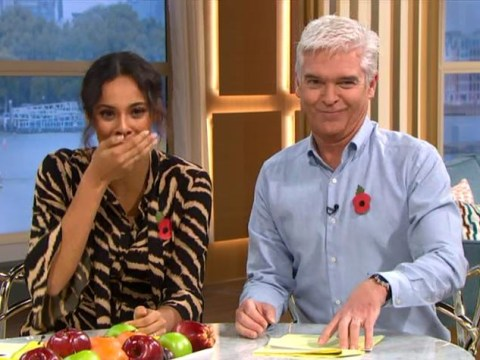 What did Rochelle Humes say? This Morning mishap leaves viewers in bits