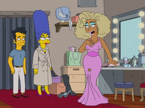 RuPaul sashayed into The Simpsons and taught Marge how to slay for poignant LGBTQI episode Werking Mom