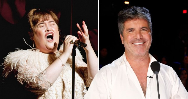 Susan Boyle And Simon Cowell To Reunite On America S Got Talent The Champions Metro News