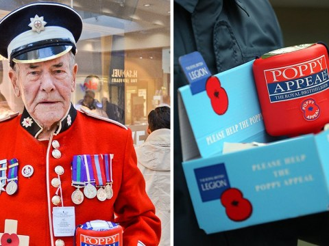 Thieves steal over £1,500 from 84-year-old army veteran selling poppies