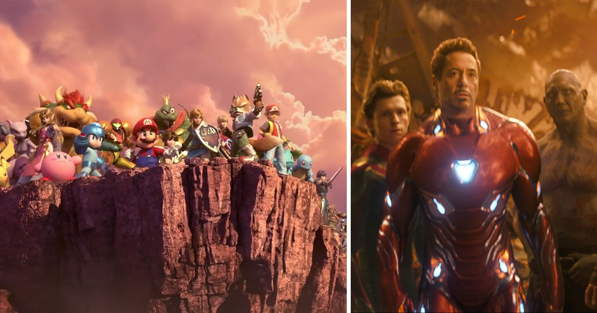 Super Smash Bros Ultimate 'predicts' Avengers 4 with new trailer
