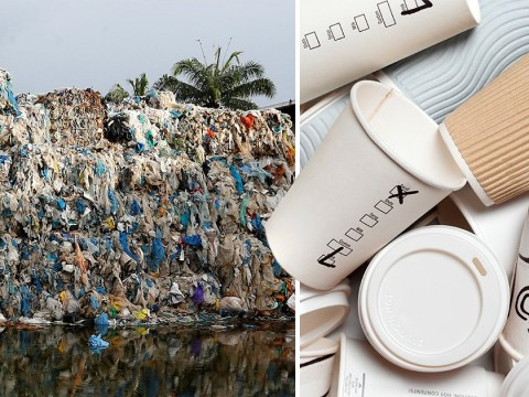 Over 2,765,000,000 throw away cups will not get recycled this year in the UK