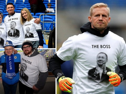 Leicester City fans and players pay tribute to 'the boss' Vichai Srivaddhanaprabha ahead of Cardiff City match