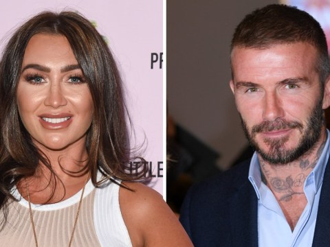 Lauren Goodger believes David Beckham is 'silly' for calling marriage 'hard work'