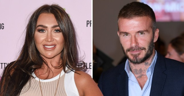 Lauren Goodger thinks David Beckham is silly for saying 'loaded' comment on his marriage