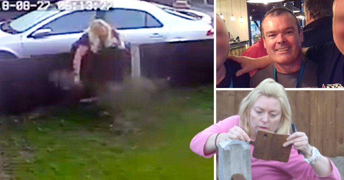 Neighbour filmed attacking man's garden in eight-year feud