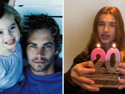 Paul Walker's daughter celebrates turning 20 just three weeks before fifth anniversary of his death