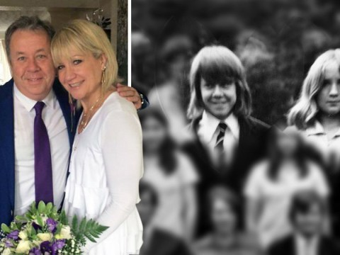 Couple who fell in love as teens reunite 39 years later and get married