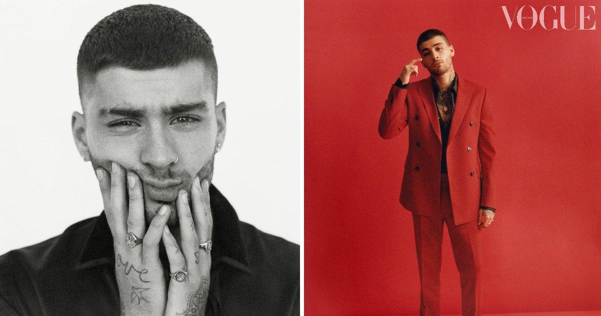 Zayn Malik channels girlfriend Gigi Hadid as he gets his model on for Vogue