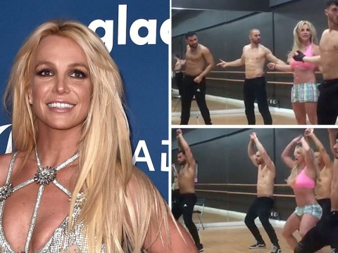 Britney Spears gives us a lesson in how to be sassy during backing dancer auditions for Las Vegas residency