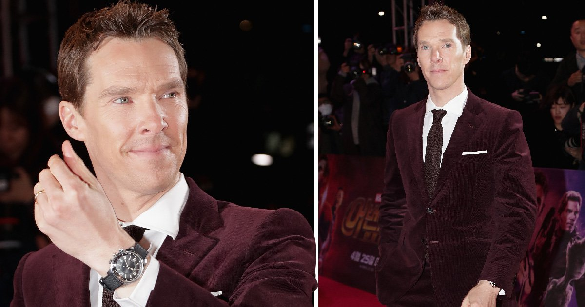 Benedict Cumberbatch loves a red carpet despite not seeing himself as a 'huge Hollywood star'