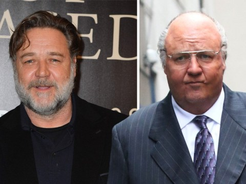 Russell Crowe is unrecognisable as he transforms into disgraced Fox News chief Roger Ailes