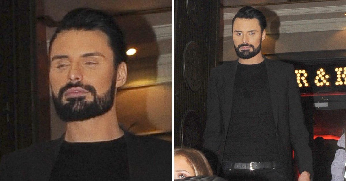 Rylan Clark-Neal gives Big Brother a good send off with Dermot O'Leary at wrap party