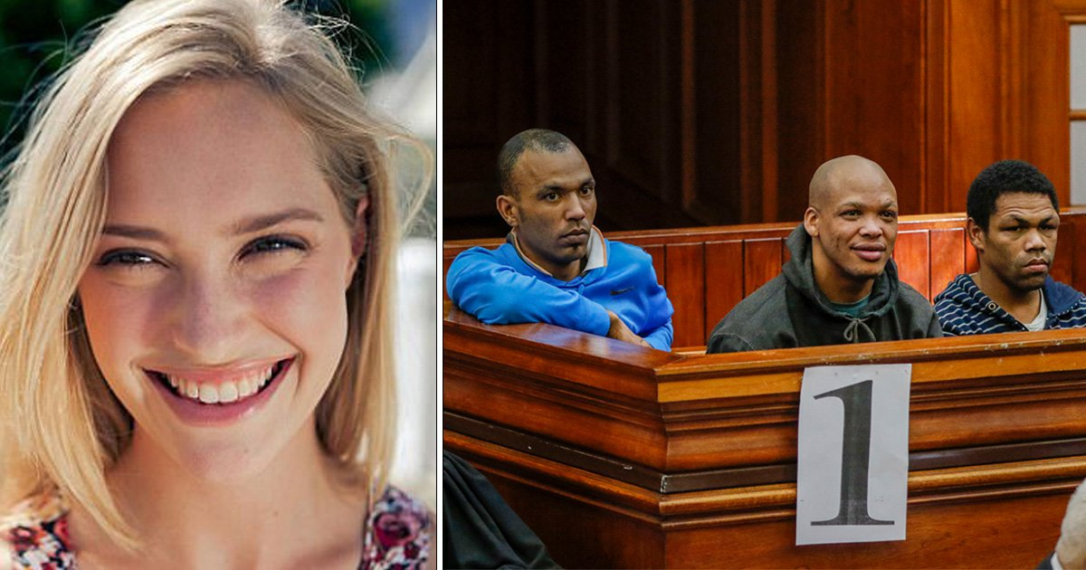 Trio guilty of gang raping student in her car before crushing her skull with a rock