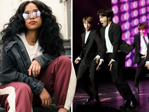 H.E.R is a fully fledged member of the BTS army and we need a collaboration now