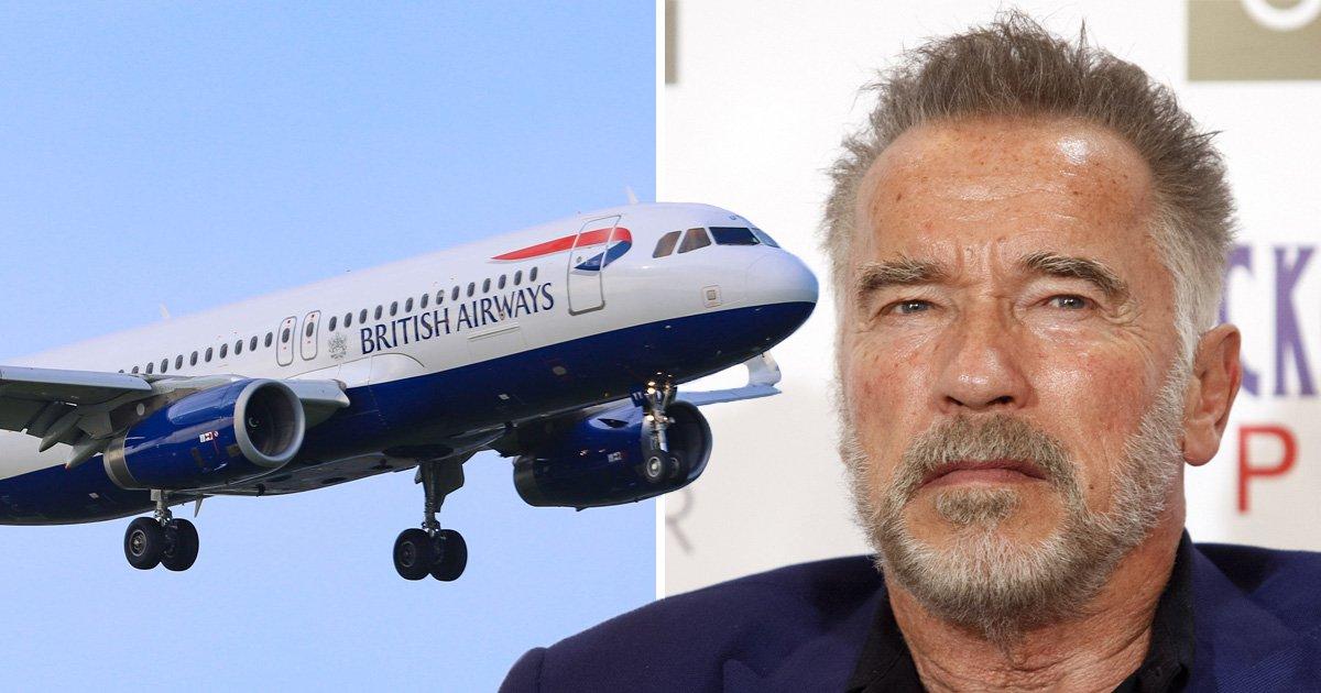 Arnold Schwarzenegger left 'shaken' as flight makes sharp 1,000ft descent after engine problems