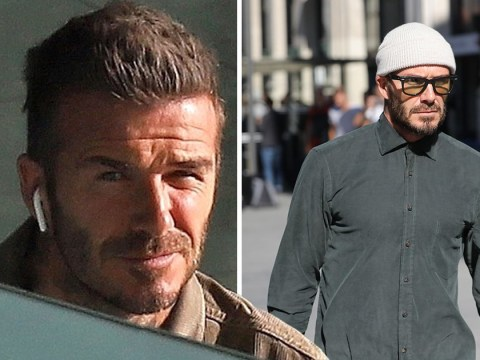David Beckham's hair has grown back fast as star shows off new style