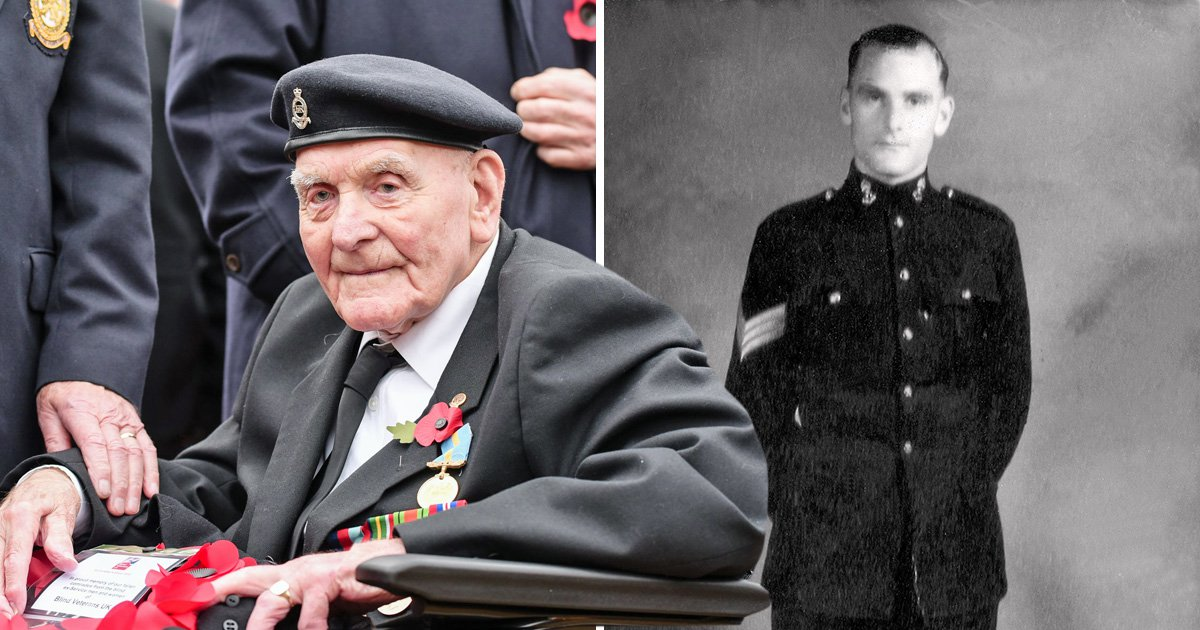 Former PoW, 103, will be the oldest to march at the Cenotaph for Remembrance Day