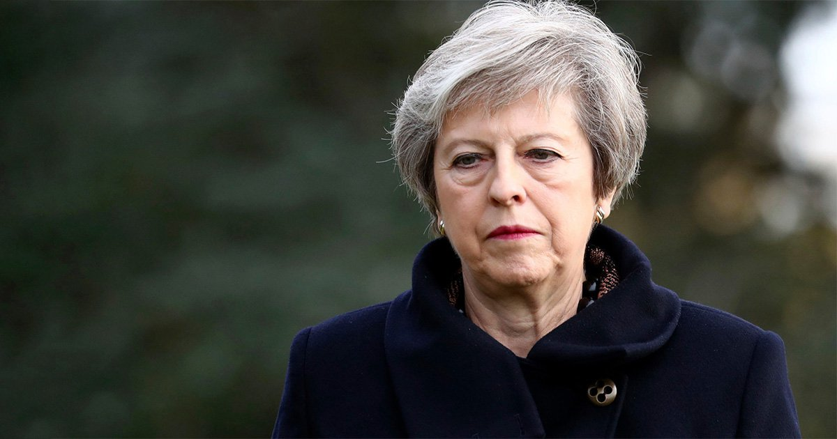 How many letters of no confidence in Theresa May have been submitted?