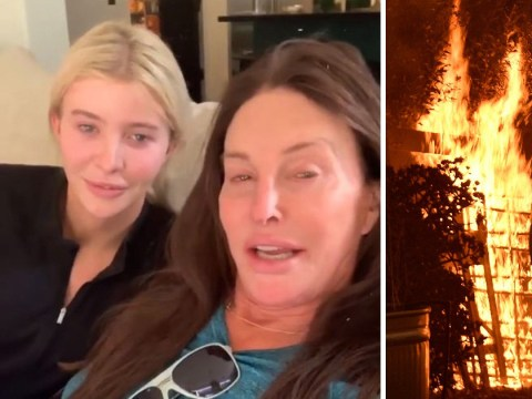 Caitlyn Jenner's house 'still standing' after claims it had burned down in California wildfires