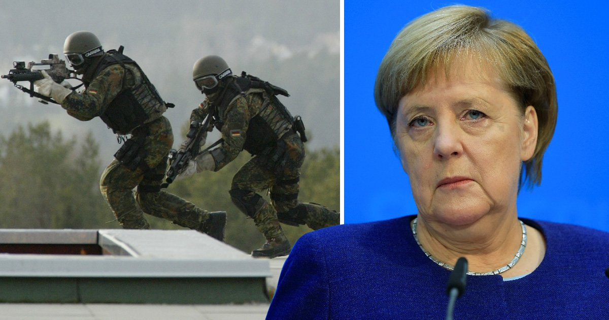 Neo-Nazi faction of German SAS 'plotted to kill politicians and immigrants'