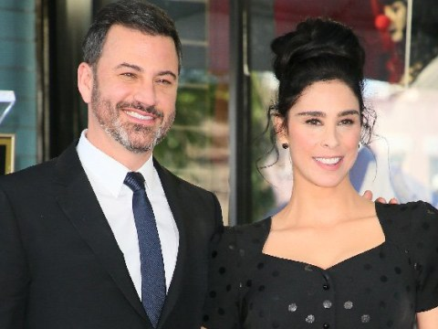 Jimmy Kimmel roasts ex Sarah Silverman at her Hollywood Walk Of Fame ceremony