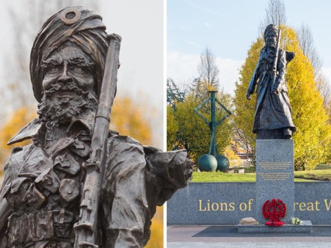 War memorial commemorating Indian soldiers vandalised less than a week after unveiling