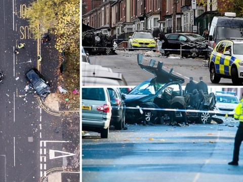 Baby among four dead after being hit by car chased by police