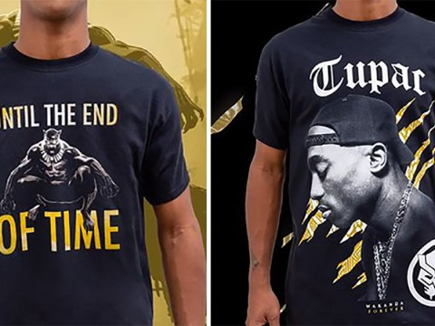 Tupac Shakur gets Marvel treatment as Foot Locker release Black Panther collaboration