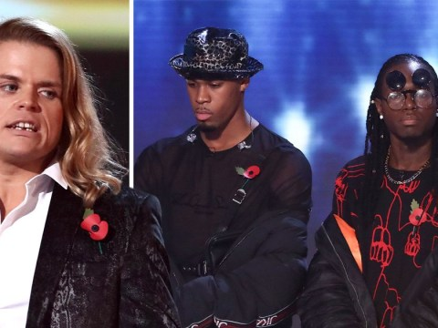 X Factor fans in shock as bookies favourites Misunderstood and Gio Spano are sent home