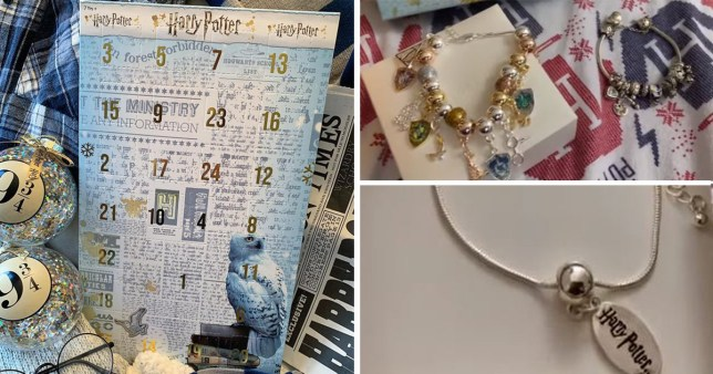 Harry Potter Advent Calendar.Asda Launches Jewellery Filled Harry Potter Advent Calendar Metro News