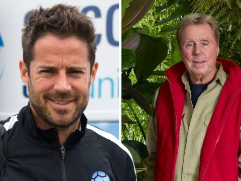 Jamie Redknapp is very concerned about seeing dad Harry's shower scenes on I'm A Celebrity