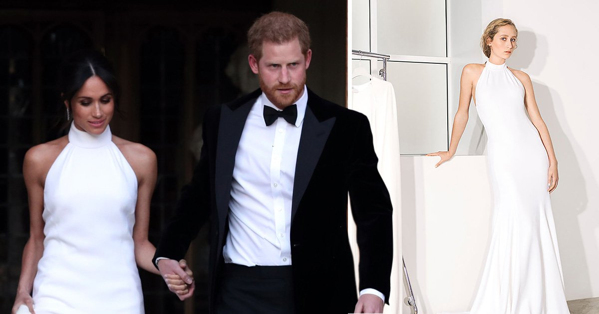 Stella McCartney launches bridal collection including Meghan Markle's wedding reception dress