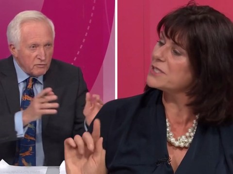 David Dimbleby accused of 'hating it when women talk' by Tory Minister