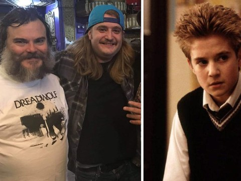 Jack Black reunites with School Of Rock drummer, now 29, and makes us all feel ancient