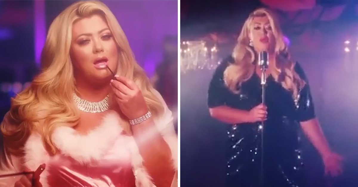 Gemma Collins launches collection with new song… sung by Tallia Storm