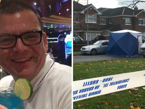 Widower shot twice in the head outside his home