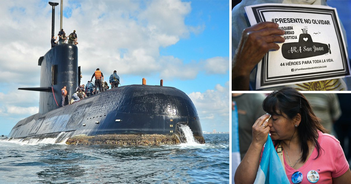 Wreckage of submarine that disappeared with 44 crew on board found in Atlantic