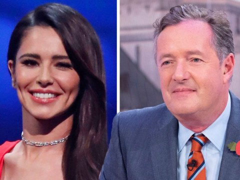 Piers Morgan reveals Cheryl 'asked him to pose naked for life-drawing class' in hilarious message