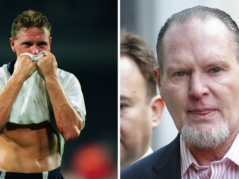 Paul Gascoigne charged with sexual assault after incident on a train