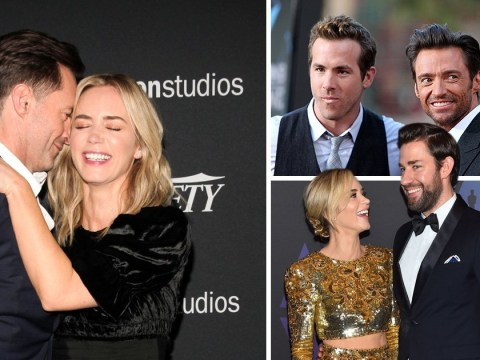 Ryan Reynolds and John Krasinski team up to roast Hugh Jackman and it's glorious
