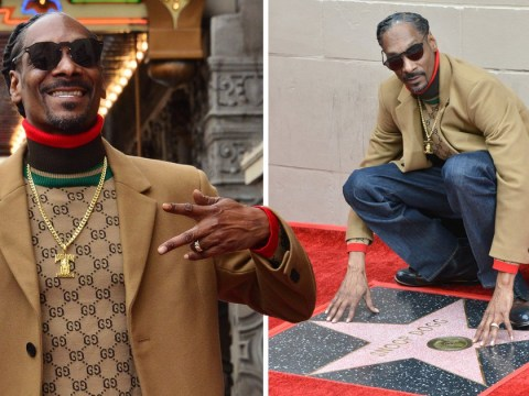 Snoop Dogg thanks himself in epic Hollywood Walk of Fame speech as he gets a star
