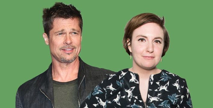 Lena Dunham and Brad Pitt psychoanalyse Liam and Noel Gallagher and everyone's a bit confused