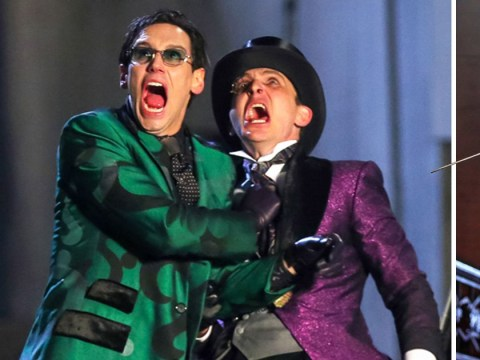 Gotham season 5: Penguin and Riddler spotted in classic outfits as the villains run riot