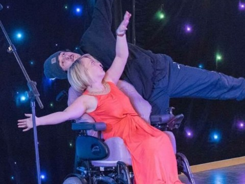 Woman with cerebral palsy is fighting discrimination through wheelchair dancing