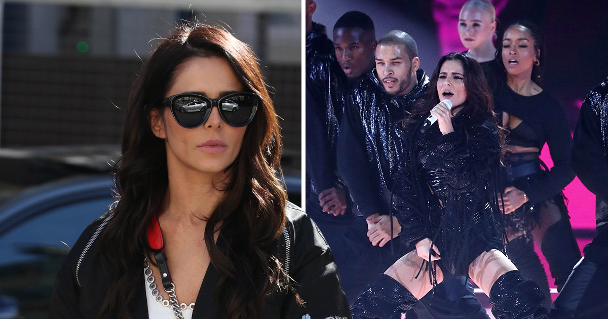 Cheryl's new single Love Made Me Do It sinks to number 48 on charts after controversial X Factor performance