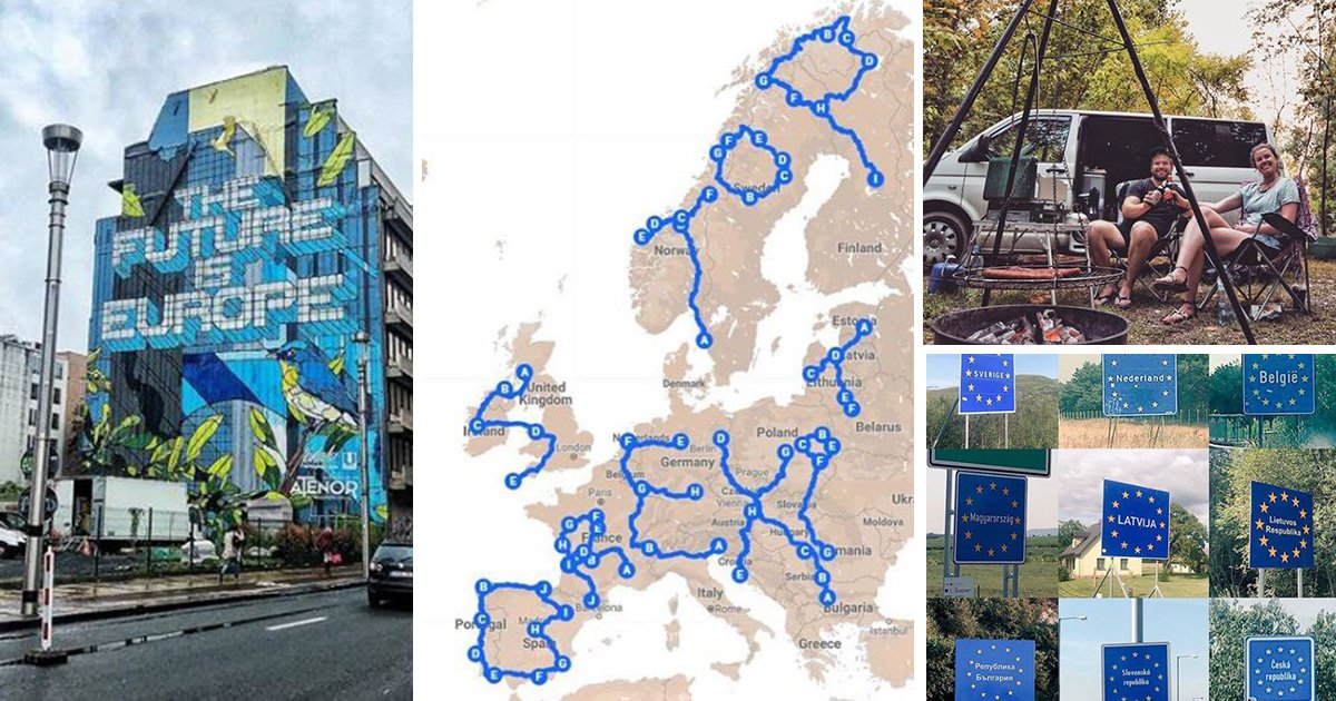 IT worker quits his job to write 'Stop Brexit' across Europe in 22,000 mile-long lettering