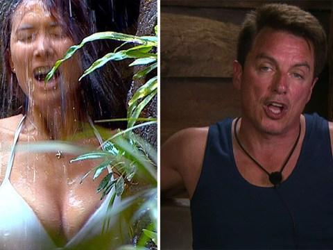 John Barrowman might usurp Myleene Klass as queen of jungle shower – white bikini and all